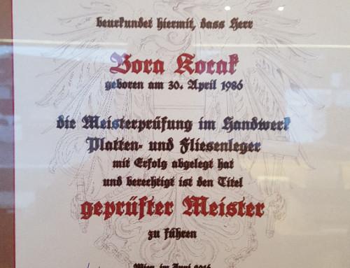 Fliesenleger-Meister St. Johann